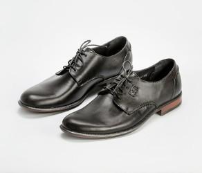 Пара мужских туфель Faber-110901_1 черного цвета
