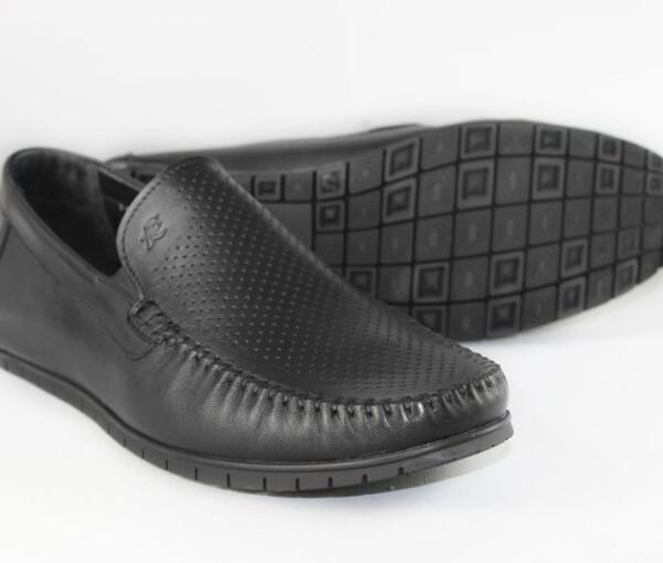 Мокасины мужские Faber 145302/1 черного цвета