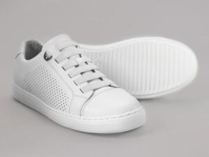 Кеды Faber 333102/3 белого цвета.
